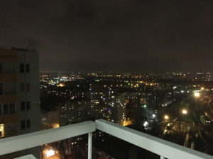 Вид из пентахауза Апарт-отеля Sky Apartments